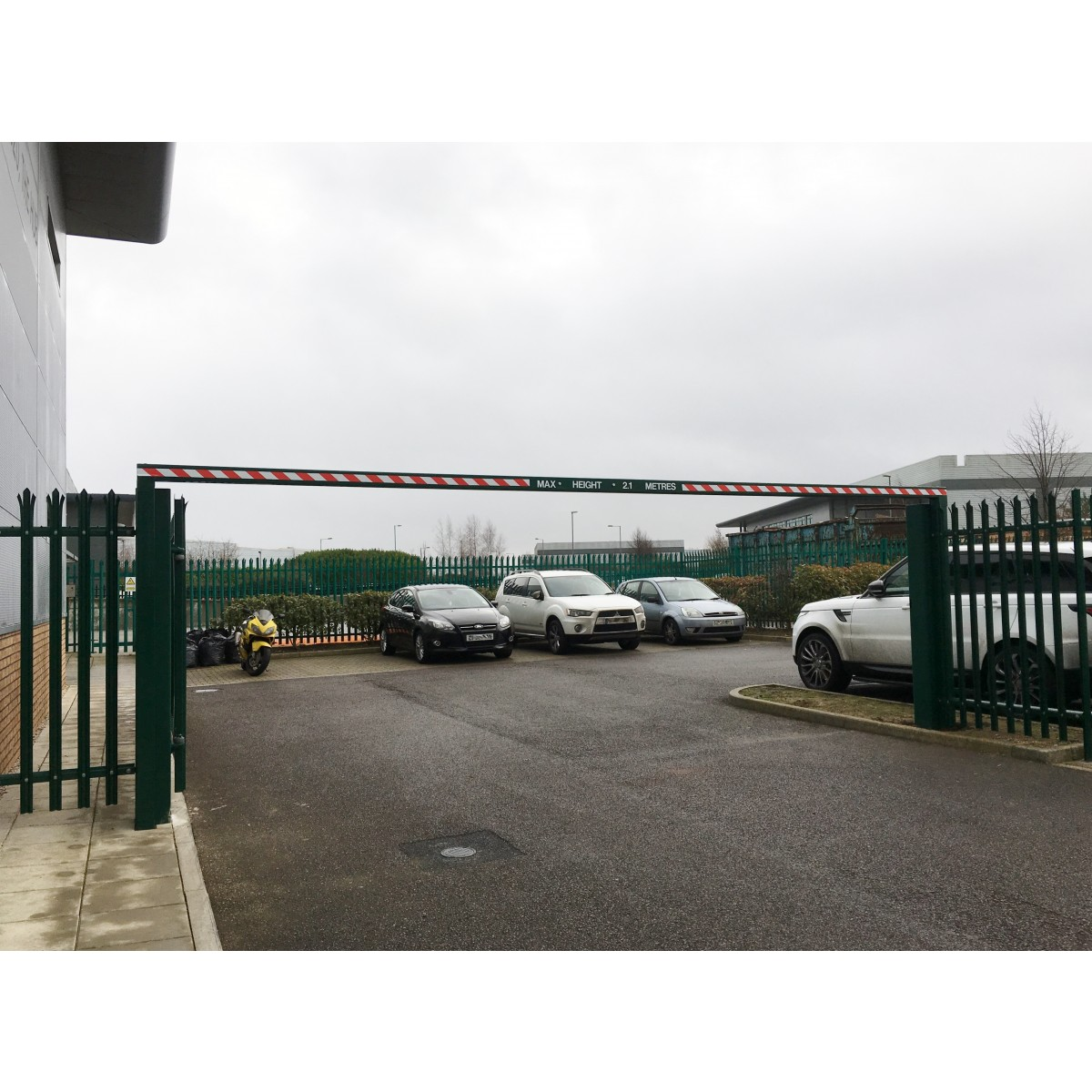 Fixed Height Restriction Barrier Access Control Manufacturer Stopem