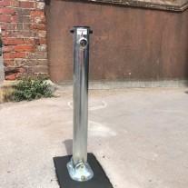 Folding Parking Post Integral Lock (Concrete In)