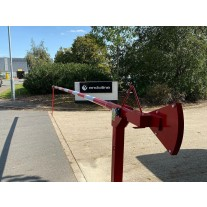 6 Metre Heavy Duty Manual Raise Arm Barrier