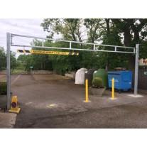 5 Metre Single Leaf Height Restriction Barrier