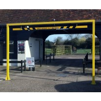 6 Metre Fixed Height Restriction Barrier
