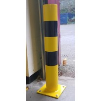 Hi-Vis Bollard Surface Mounted 139.7 X 900mm (Yellow & Black)