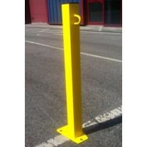 Square 50mm Post Yellow (Concrete In)