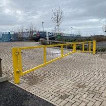 6 Metre Double Leaf Access Gate