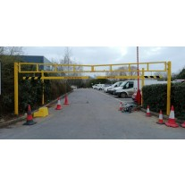 7 Metre Double Leaf Height Restriction Barrier