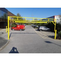 5 Metre Single Leaf Height Restriction Barrier