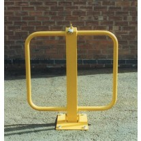 Winged Padlock Parking Barrier