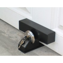 Padlock Garage Door Defender