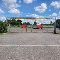 SB23 Fixed Height Car Park Barrier