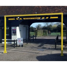 8 Metre Fixed Height Restriction Barrier