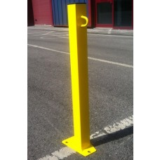 SB.28 Fixed Steel Post Yellow