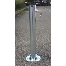 Hinged Integral Folding Parking Post (Concrete In)
