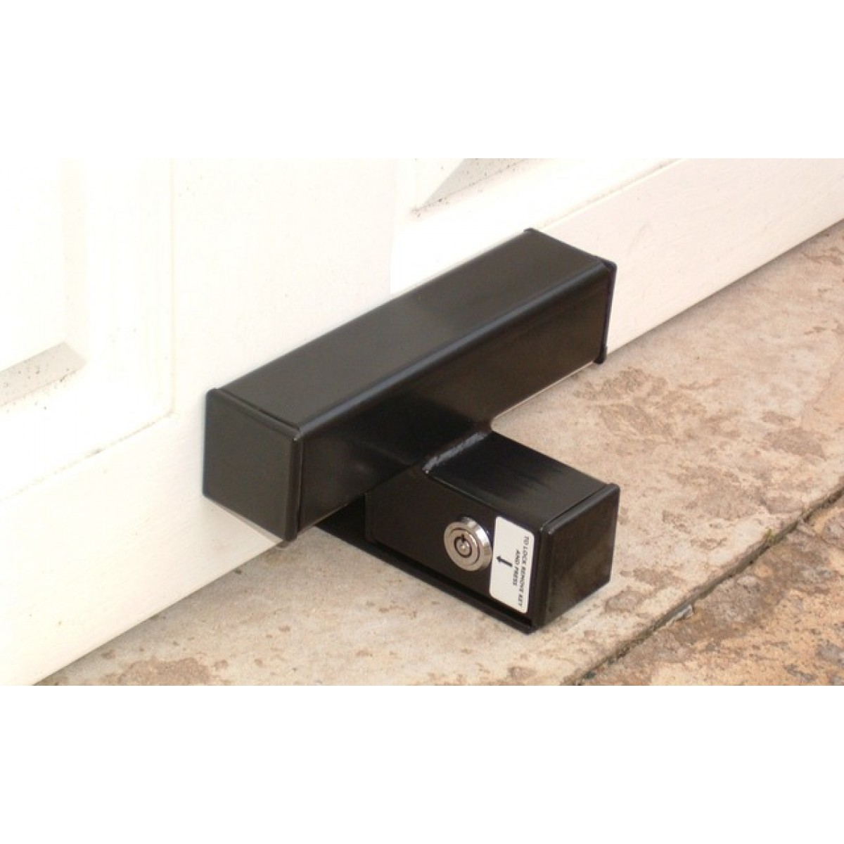 Integral Lock Garage Door Defender