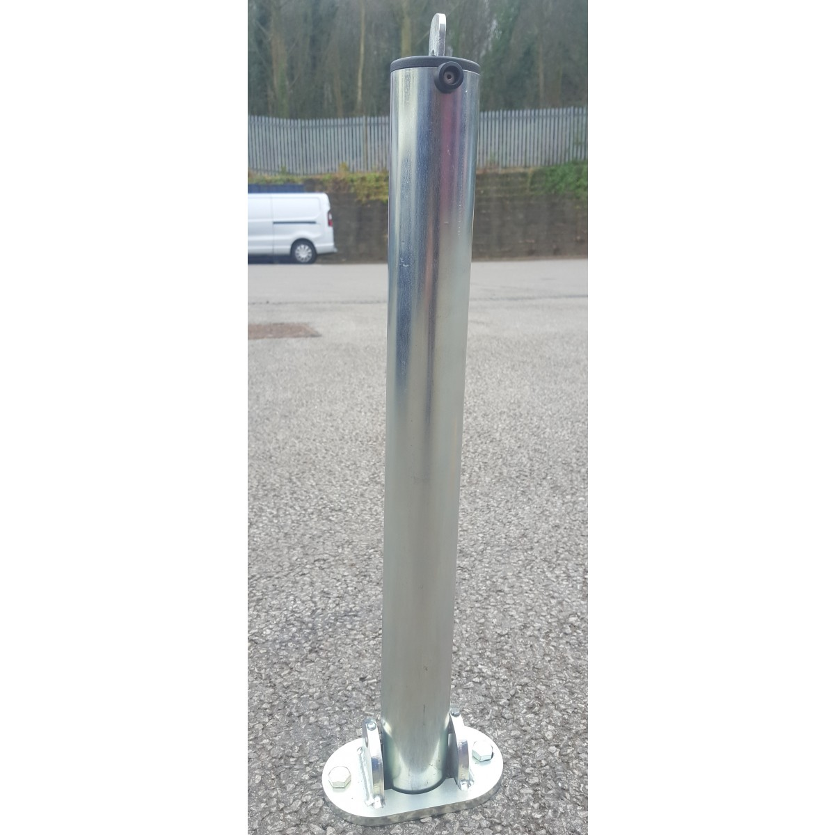 SB11 Hinged Padlock Folding Parking Post