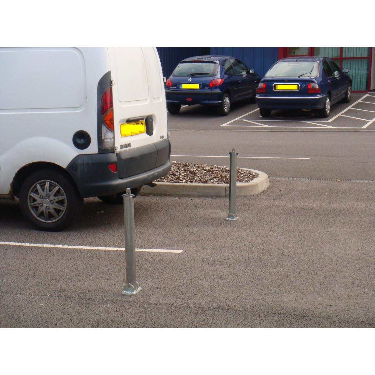 SB.11 Folding Parking Post Padlock