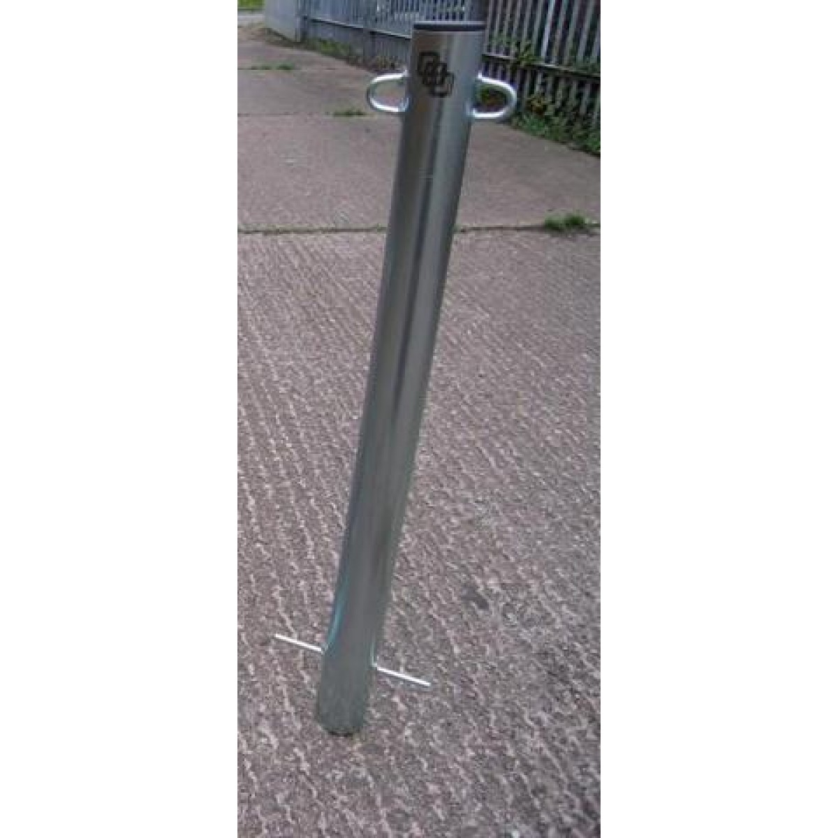 Fixed Steel Post Concrete In