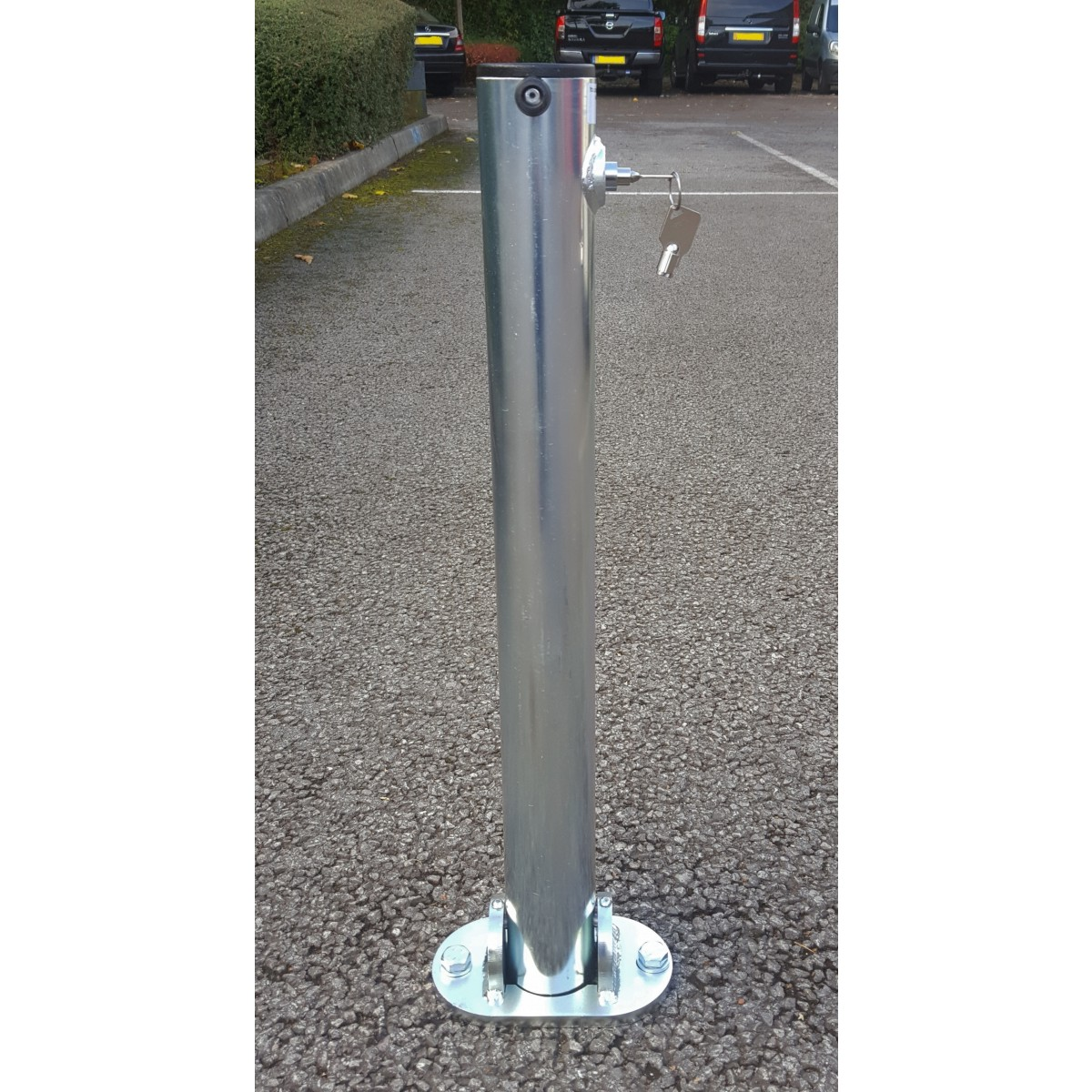 SB.11 Folding Parking Post Integral Lock
