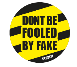 Don't be fooled by fake